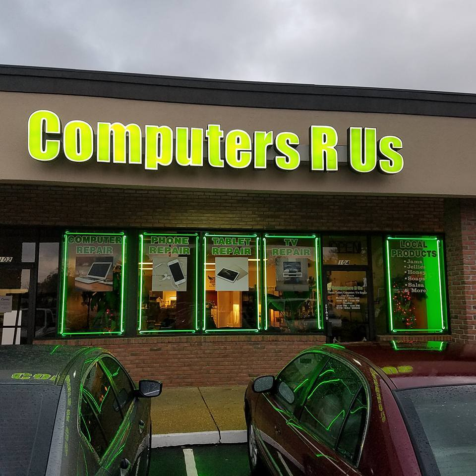 outside of Computers R Us
