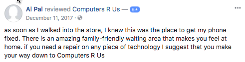 al pal facebook review computers r us kennesaw