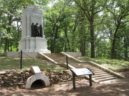 monument at kennesaw mountain